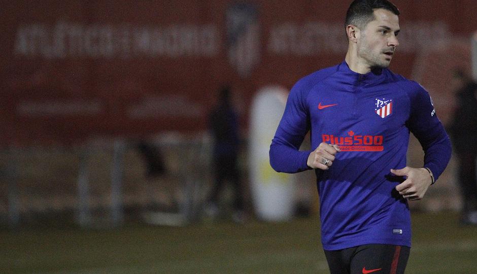 Temporada 19/20 | 14/01/2020 | Entrenamiento en la Ciudad Deportiva Wanda | Vitolo