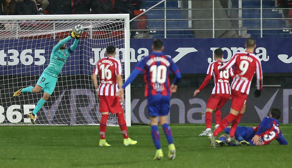 Temporada 19/20 | Eibar - Atlético de Madrid | Oblak