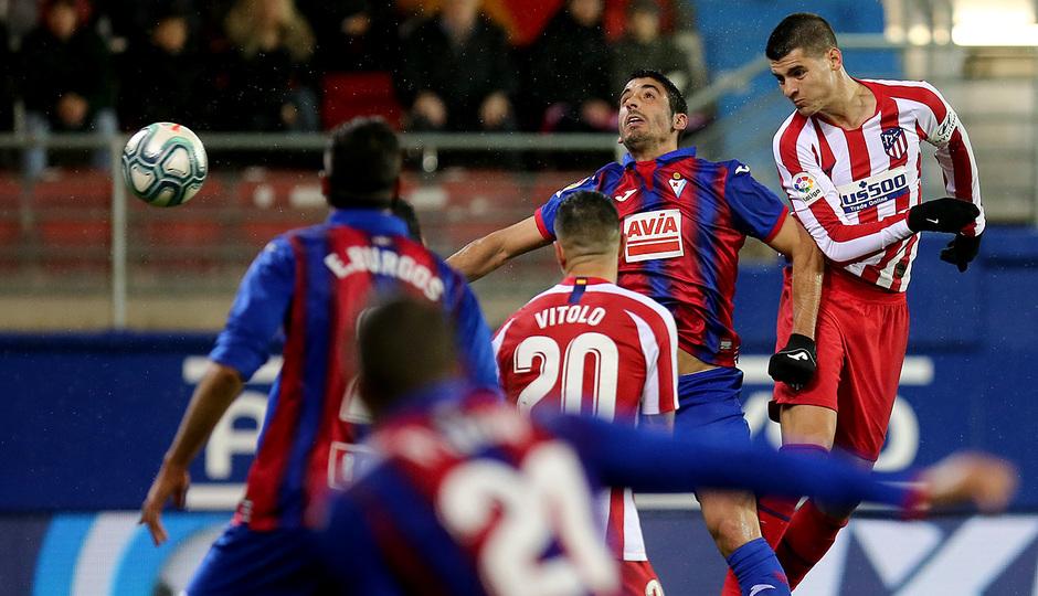 Temporada 19/20 | Eibar - Atlético de Madrid | Morata