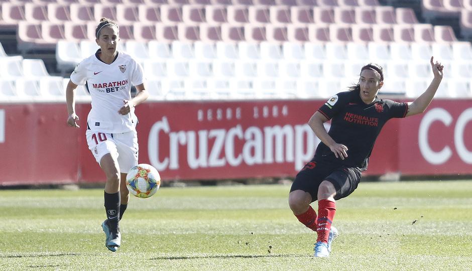 Temporada 19/20 | Sevilla - Atlético de Madrid Femenino | Silvia Meseguer