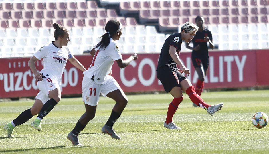 Temporada 19/20 | Sevilla - Atlético de Madrid Femenino | Linari