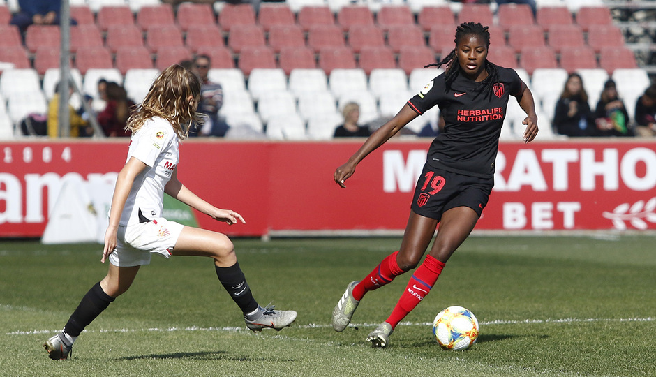 Temporada 19/20 | Sevilla - Atlético de Madrid Femenino | Tounkara
