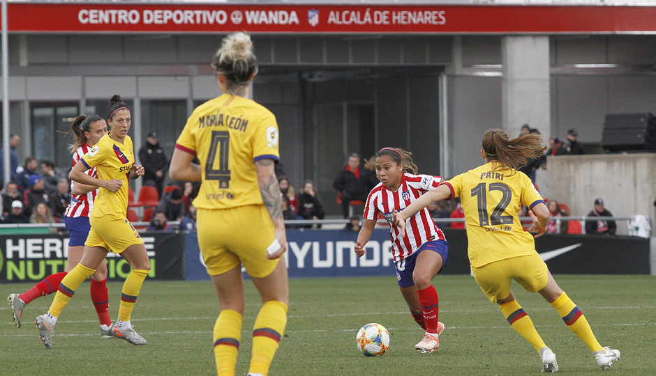 Temporada 19/20 | Atlético de Madrid Femenino - FC Barcelona | Leicy