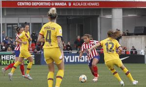Temporada 19/20   Atlético de Madrid Femenino - FC Barcelona   Leicy