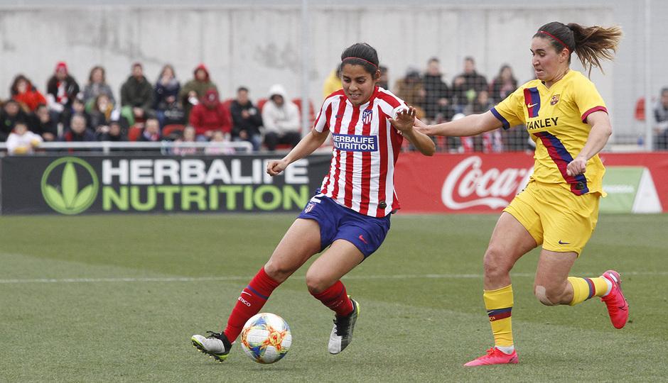 Temporada 19/20 | Atlético de Madrid Femenino - FC Barcelona | Kenti