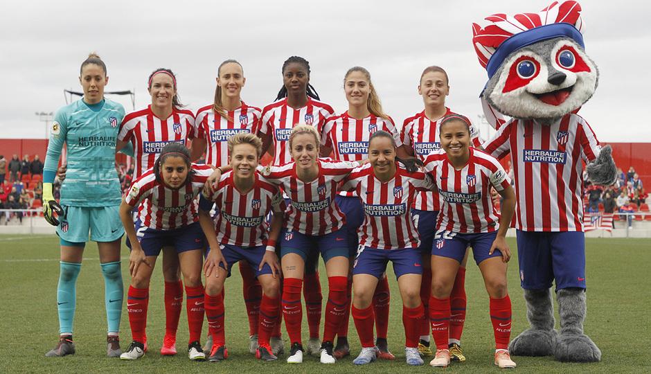 Temporada 19/20 | Atlético de Madrid Femenino - FC Barcelona | Once