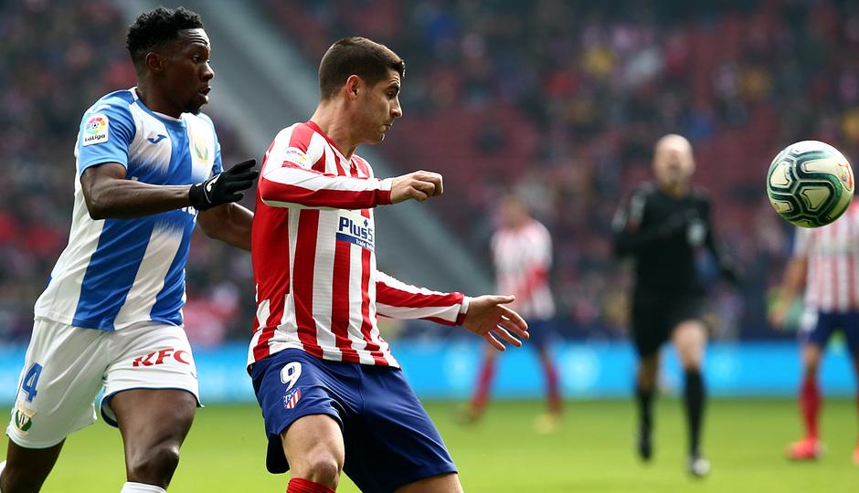 Temporada 19/20 | Atlético de Madrid - Leganés | Morata