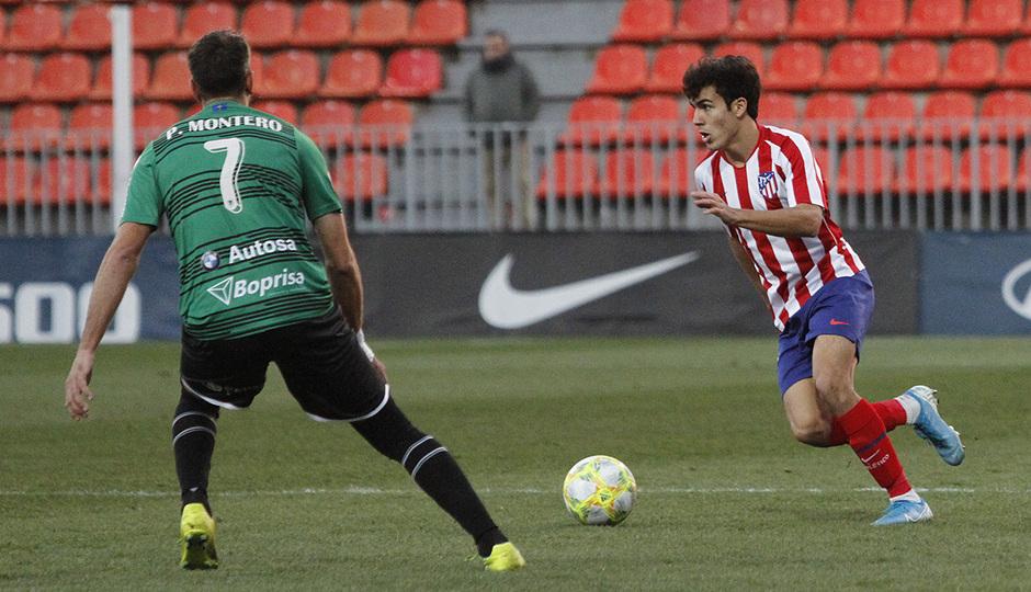 Temporada 19/20 | Atlético de Madrid B - Langreo | Manu Sánchez