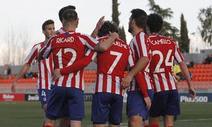 Temporada 19/20 | Atlético de Madrid B - Langreo | Gol