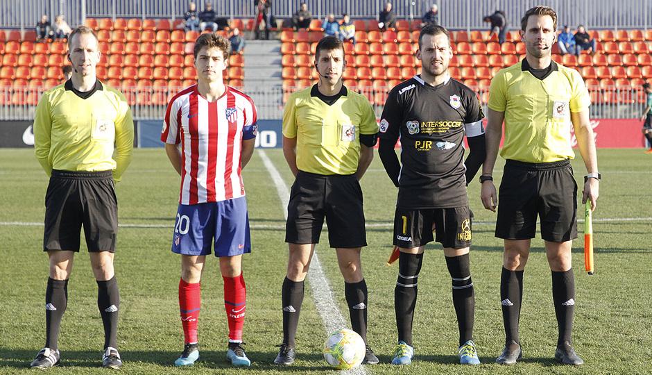 Temporada 19/20 | Atlético de Madrid B - Langreo | Solano