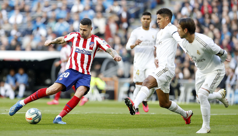Temporada 19/20 | Real Madrid - Atlético de Madrid | Vitolo