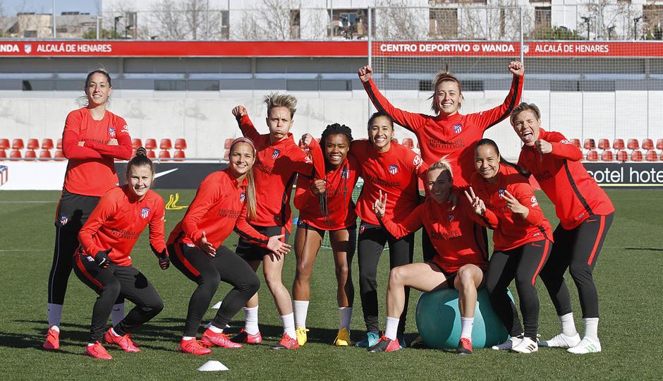 Temporada 19/20 | Entrenamiento del femenino en el Centro Deportivo Wanda Alcalá de Henares |