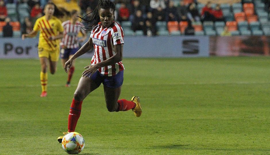 Temporada 19/20   Supercopa   Atlético de Madrid Femenino - Barcelona   Ludmila