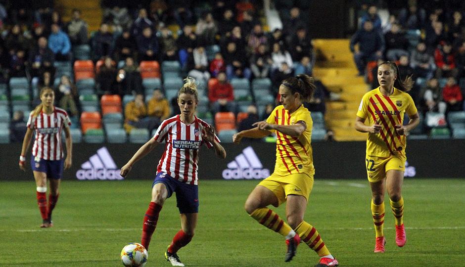 Temporada 19/20   Supercopa   Atlético de Madrid Femenino - Barcelona   Sosa
