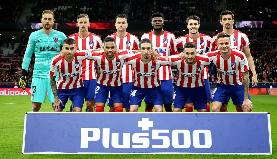 Temporada 19/20   Atleti - Granada   Once