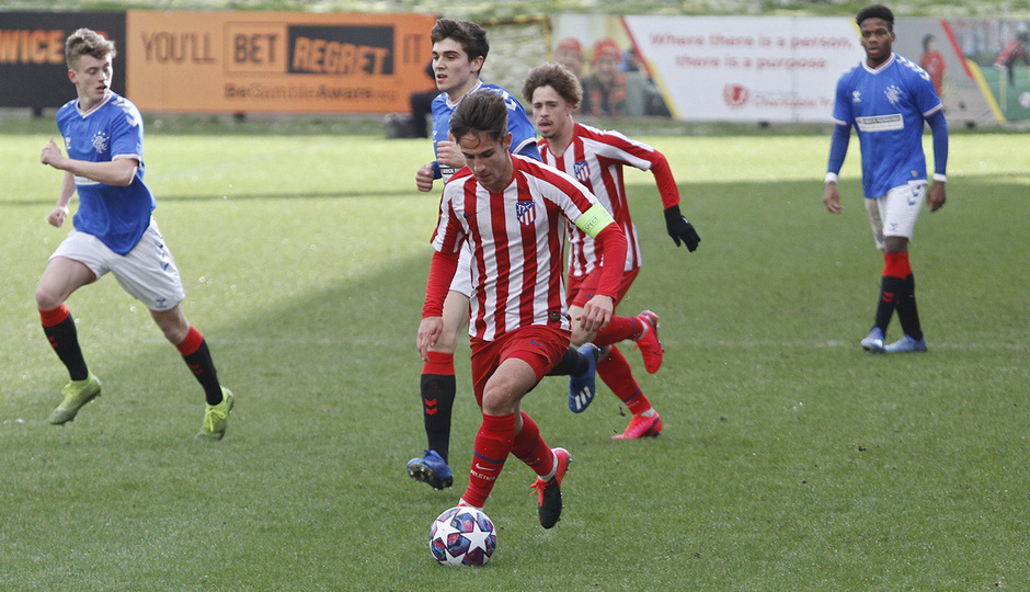 Temp. 19-20 | UEFA Youth League | Rangers - Atlético de Madrid | Medrano