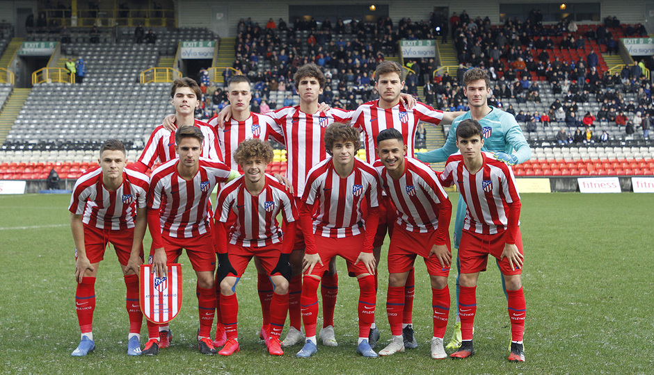 Temp. 19-20 | UEFA Youth League | Rangers - Atlético de Madrid | Once