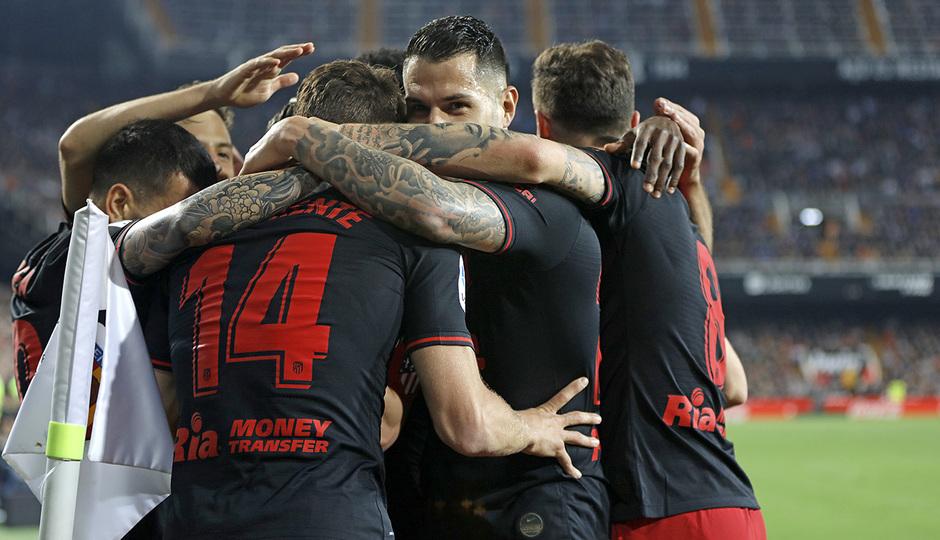 Temp. 19-20 | Valencia - Atlético de Madrid | Celebración