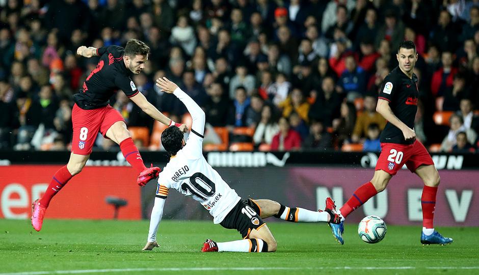 Temp. 19-20 | Valencia - Atlético de Madrid | Saúl