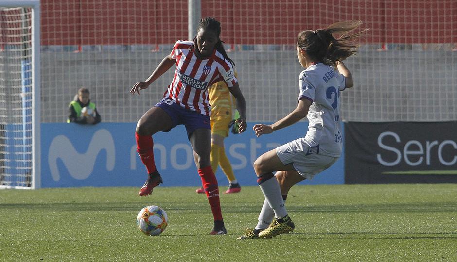 Temp. 19-20   Atlético de Madrid Femenino-Levante   Tounkara