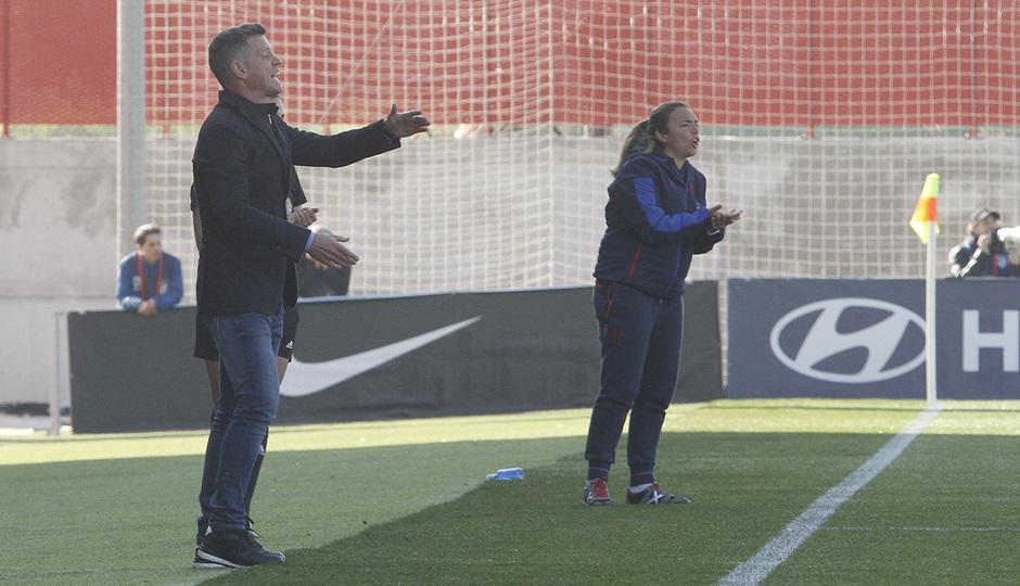 Temp. 19-20   Atlético de Madrid Femenino-Levante   Dani González