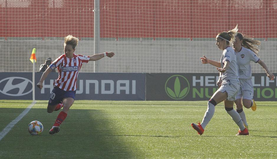 Temp. 19-20   Atlético de Madrid Femenino-Levante   Amanda