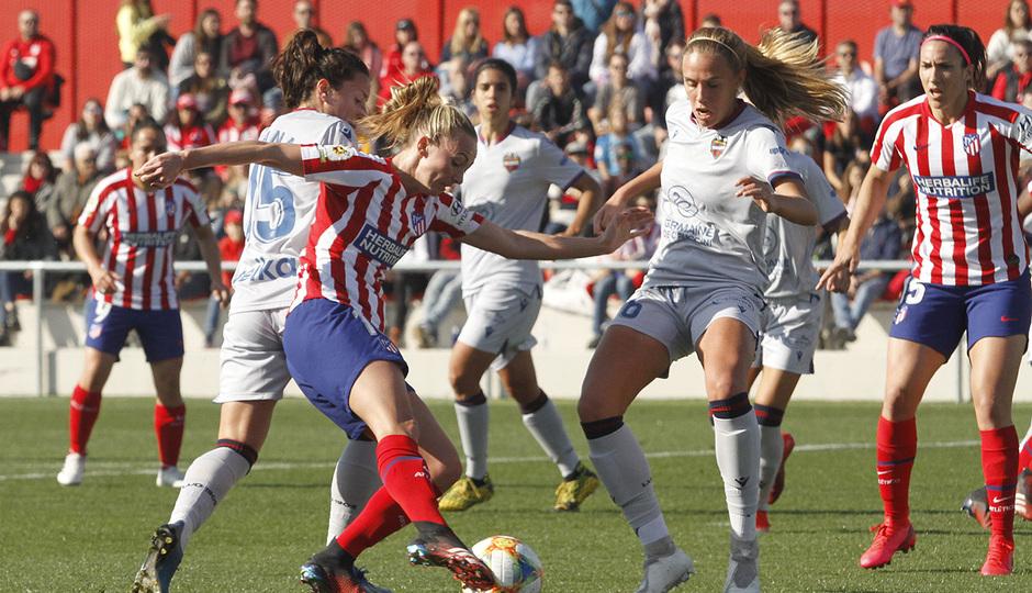 Temp. 19-20   Atlético de Madrid Femenino-Levante   Toni Duggan