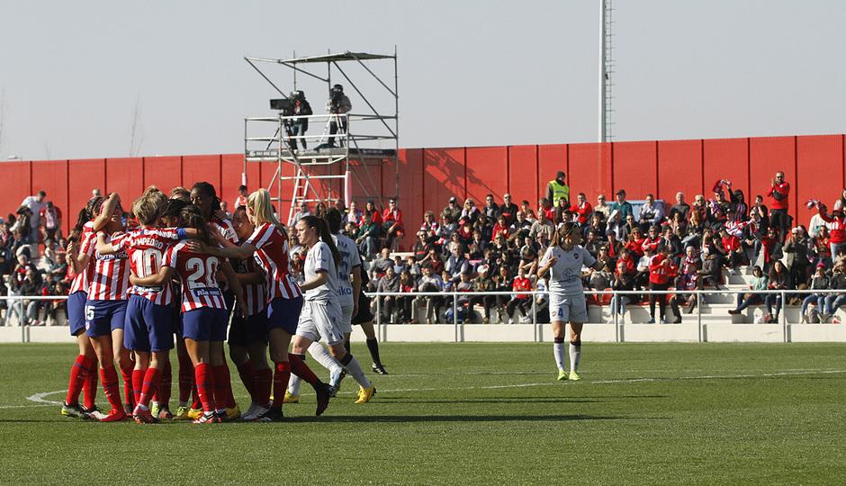 Temp. 19-20 | Atlético de Madrid Femenino-Levante | Celebración