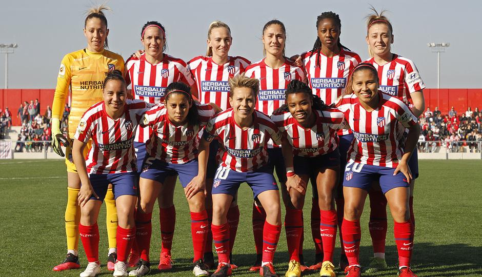 Temp. 19-20   Atlético de Madrid Femenino-Levante   Once