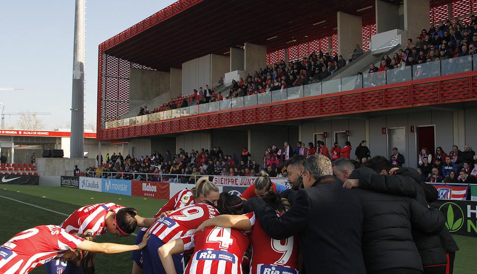 Temp. 19-20   Atlético de Madrid Femenino-Levante   Piña