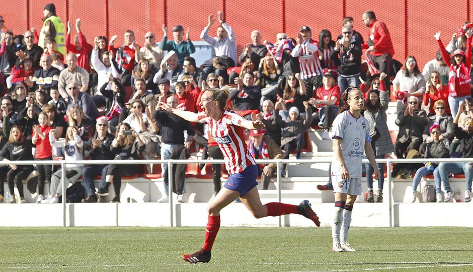 Temp. 19-20 | Atlético de Madrid Femenino-Levante | Toni Duggan