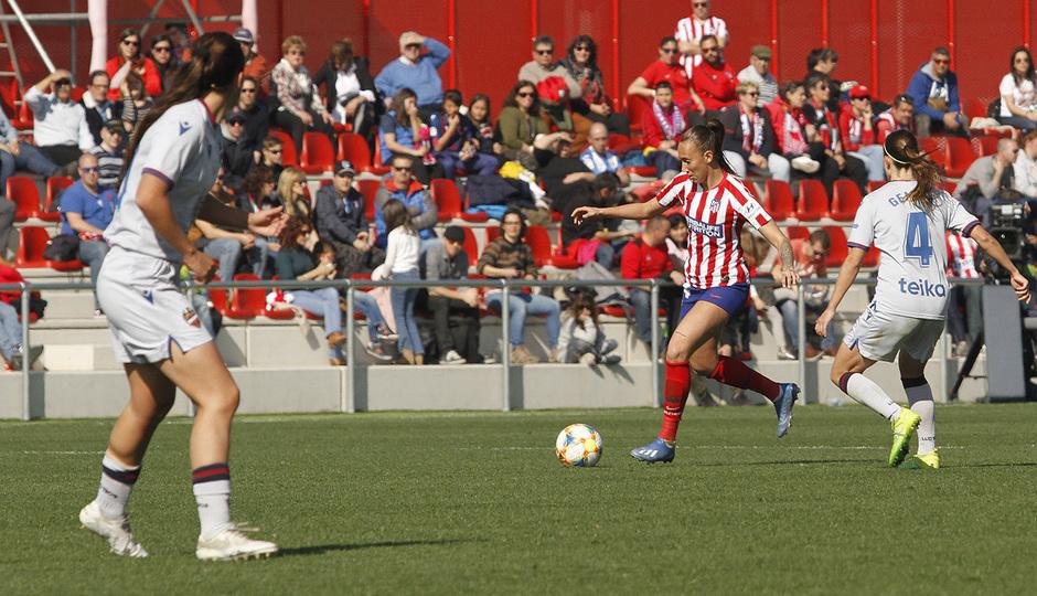 Temp. 19-20   Atlético de Madrid Femenino-Levante   Virginia