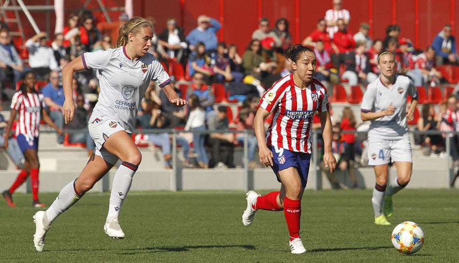 Temp. 19-20   Atlético de Madrid Femenino-Levante   Charlyn