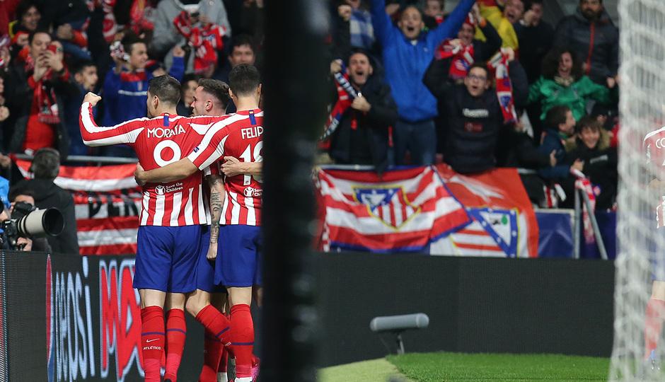 Temporada 19/20   Atlético de Madrid - Liverpool   Gol