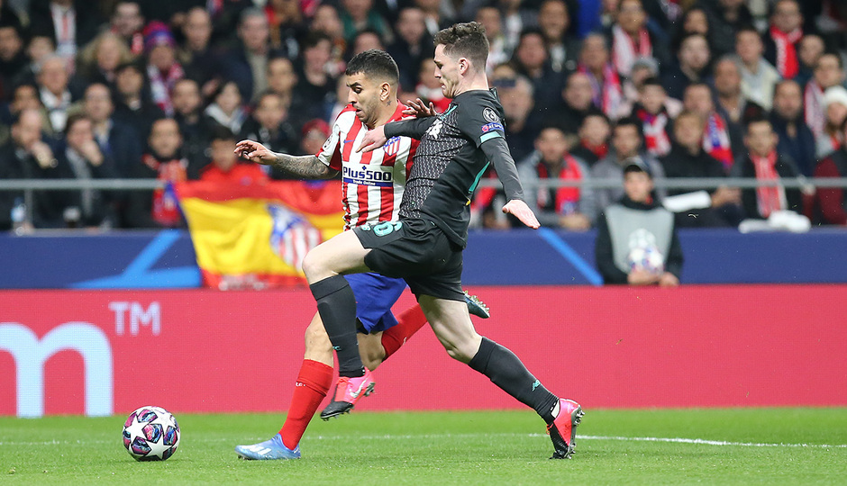 Temporada 19/20   Atlético de Madrid - Liverpool   Correa
