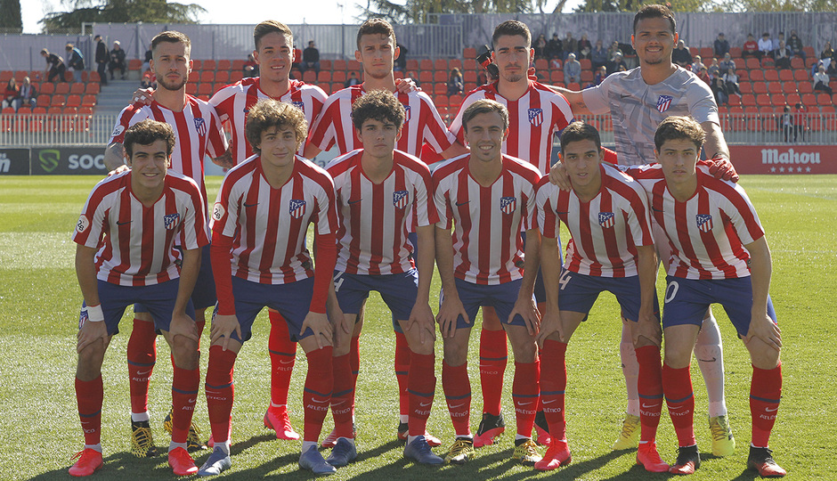 Temporada 19/20 | Atlético B - Pontevedra | Once