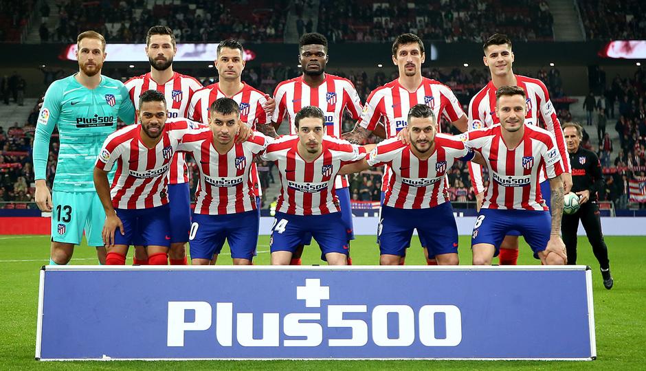 Temporada 2019/20 | Atlético de Madrid - Villarreal | Once
