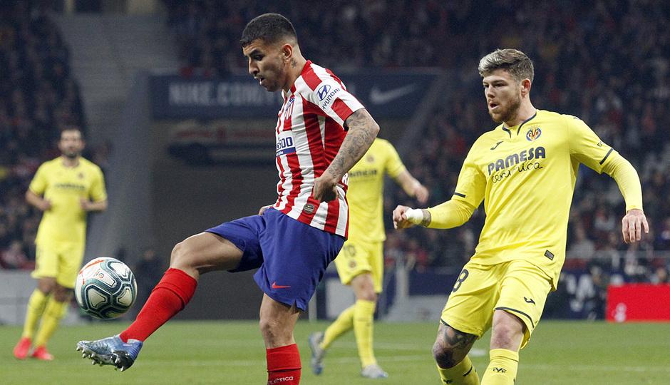 Temporada 2019/20 | Atlético de Madrid - Villarreal | Correa