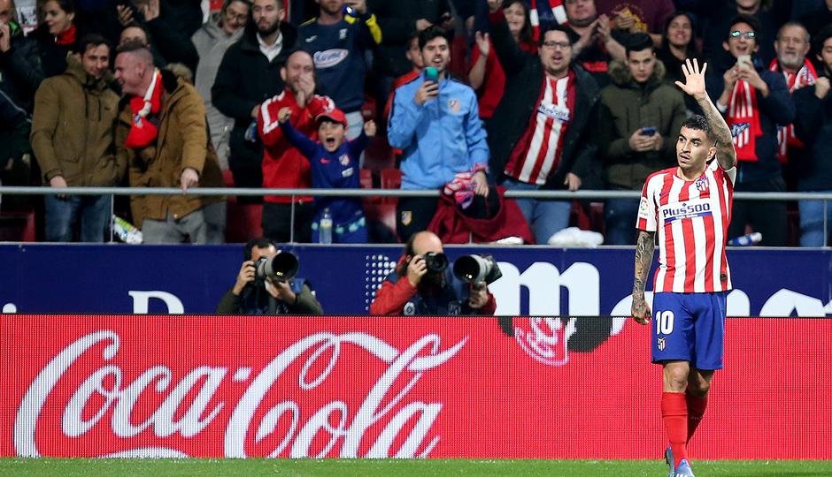 Temporada 2019/20 | Atlético de Madrid - Villarreal | Correa Celebración