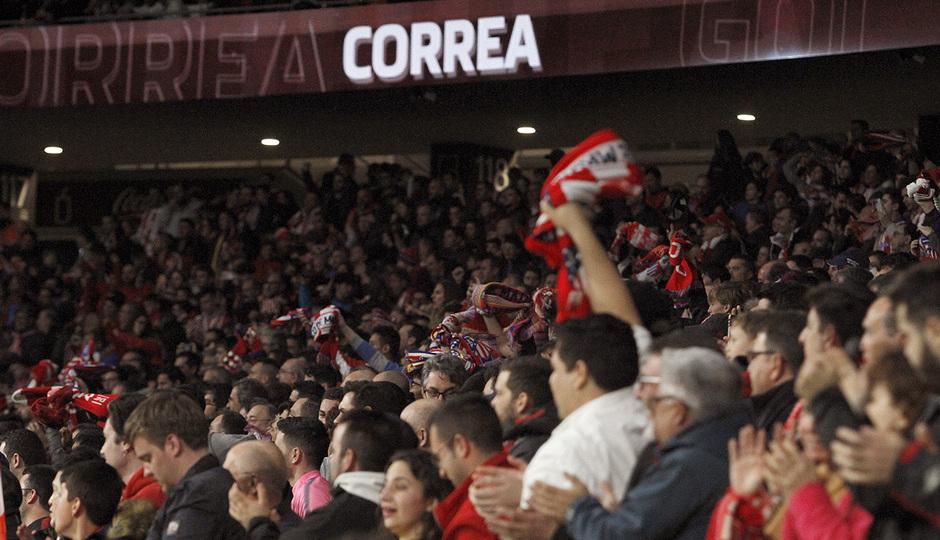 Temporada 2019/20 | Atlético de Madrid - Villarreal | Afición Celebración