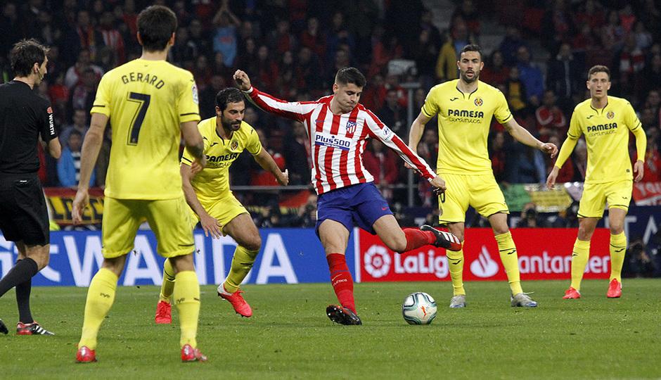 Temporada 2019/20 | Atlético de Madrid - Villarreal | Morata