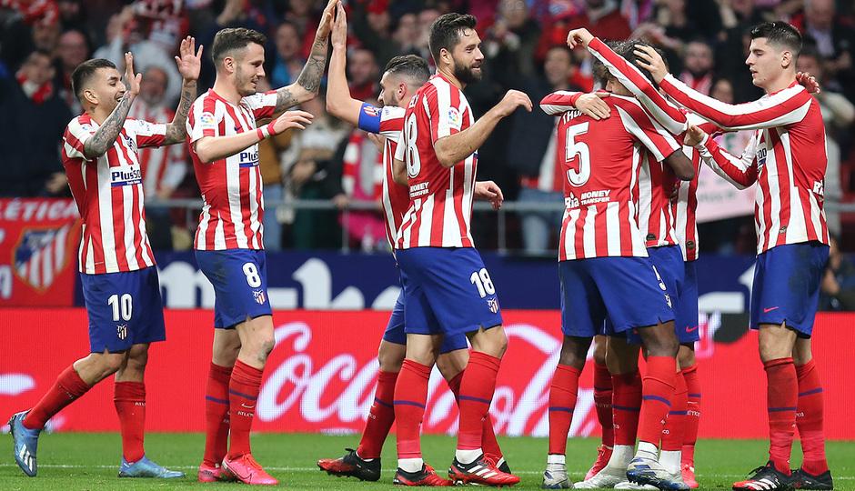 Temporada 2019/20 | Atlético de Madrid - Villarreal | Celebración