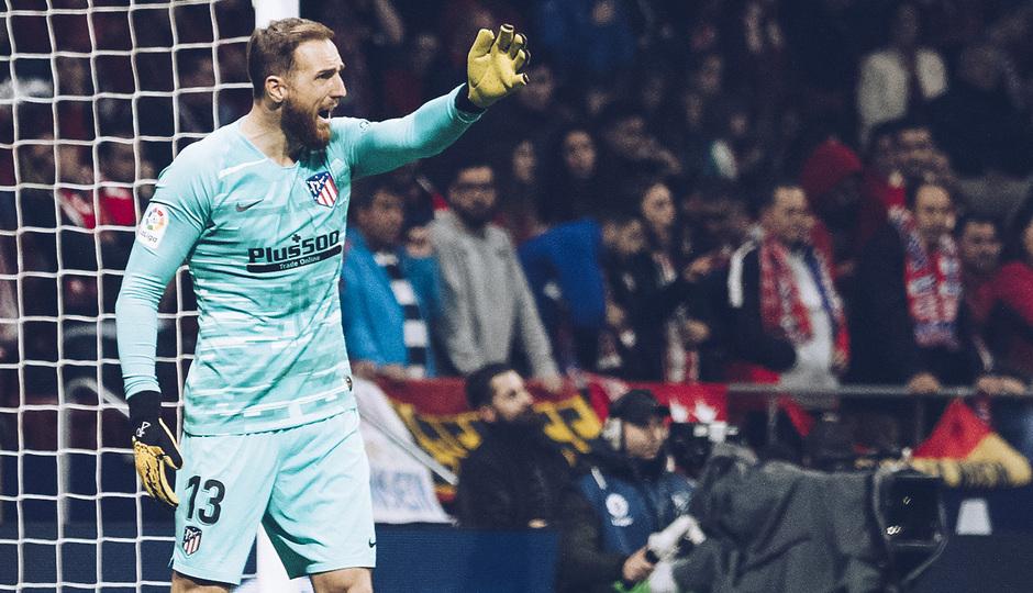 Temporada 2019/20 | Atlético de Madrid - Villarreal | Otra mirada | Oblak