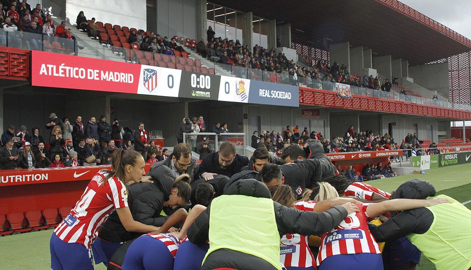 Temporada 19/20 | Atlético de Madrid Femenino - Real Sociedad | Piña