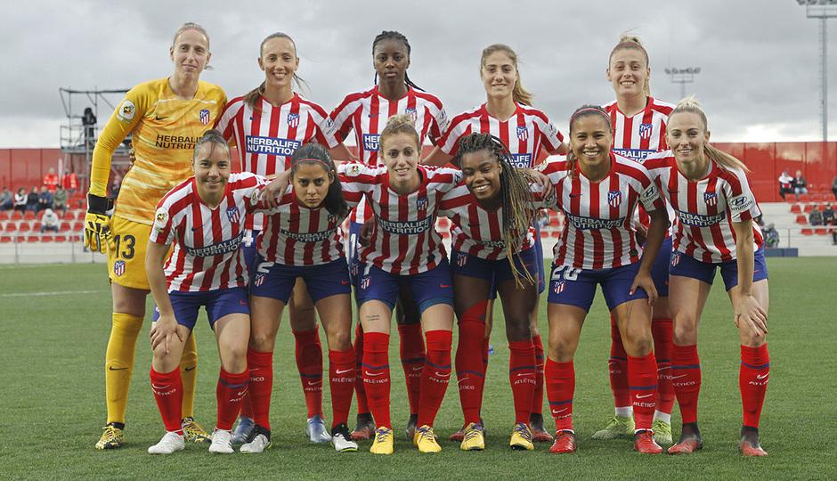 Temporada 19/20   Atlético de Madrid Femenino - Real Sociedad   Once