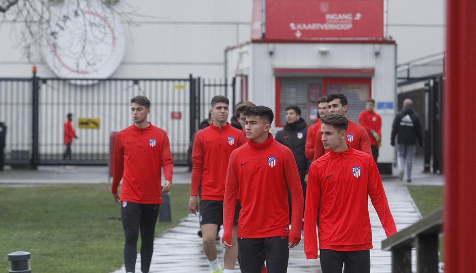 Temporada 19/20 | Entrenamiento Youth League Ajax Amsterdam |