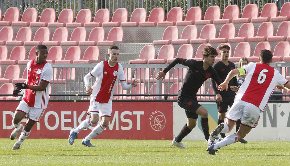 Temp. 19-20 | Ajax - Atlético de Madrid | Youth League | Tenas