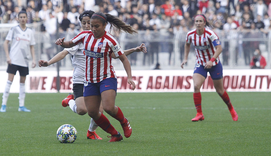 Temp. 19-20 | Besiktas - Atlético de Madrid Femenino | Leicy