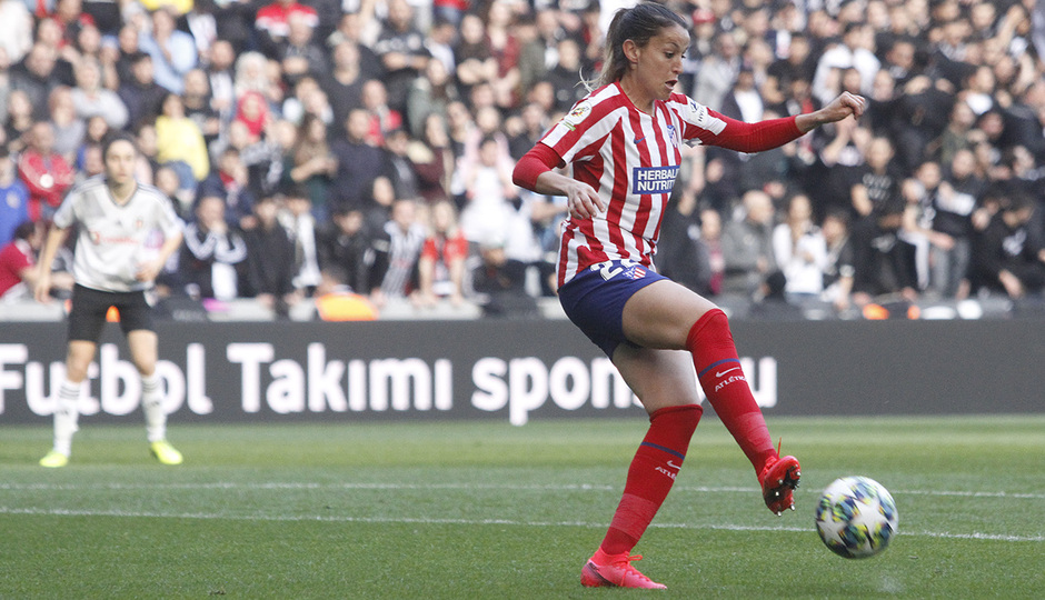Temp. 19-20 | Besiktas - Atlético de Madrid Femenino | Olga García