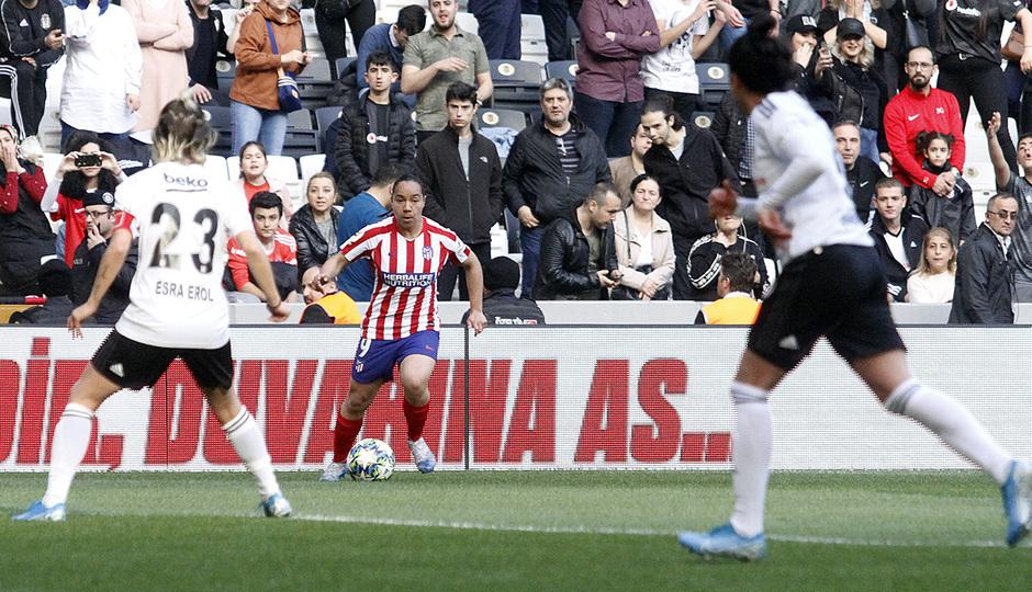 Temp. 19-20 | Besiktas - Atlético de Madrid Femenino | Charlyn